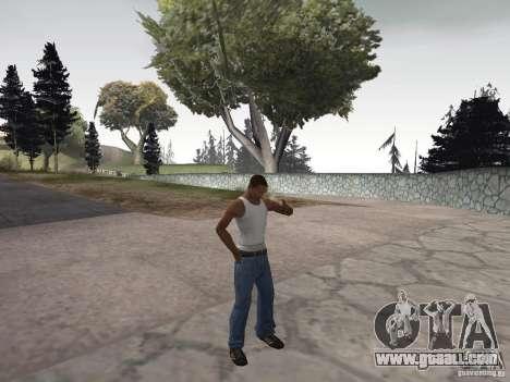 The ability to smoke for GTA San Andreas third screenshot