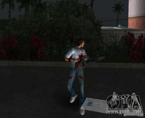 Chainsaw for GTA Vice City fifth screenshot