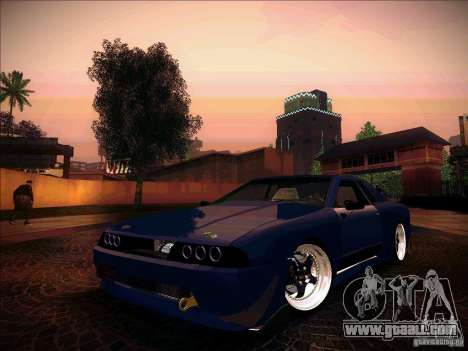 Elegy JDM Tuned for GTA San Andreas back view