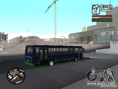 LIAZ 5256.25-II for GTA San Andreas right view