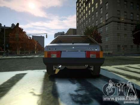 VAZ 2109 for GTA 4 back left view