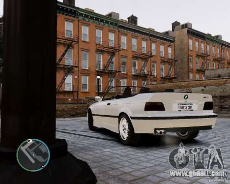 BMW M3 e36 1997 Cabriolet for GTA 4 left view