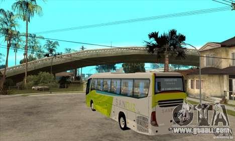Marcopolo Viaggio G7 1050 Santur for GTA San Andreas back left view
