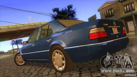 Mersedes-Benz E500 for GTA San Andreas left view