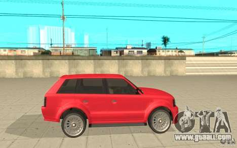 Huntley Sport from GTA 4 for GTA San Andreas left view