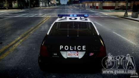 Ford Crown Victoria Massachusetts Police [ELS] for GTA 4