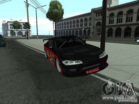 Nissan S15 vDragon for GTA San Andreas right view