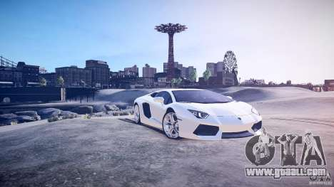 Lamborghini Aventador LP700-4 v1.0 for GTA 4 left view