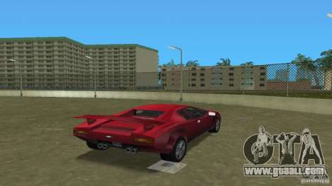 Infernus BETA for GTA Vice City left view