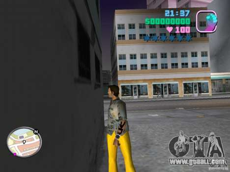 Pak new skins for GTA Vice City second screenshot