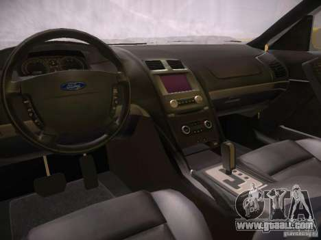 Ford Falcon for GTA San Andreas inner view