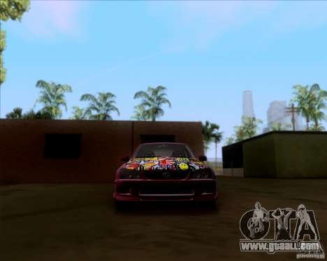 Lexus IS300 Hella Flush for GTA San Andreas upper view