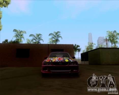 Lexus IS300 Hella Flush for GTA San Andreas upper view