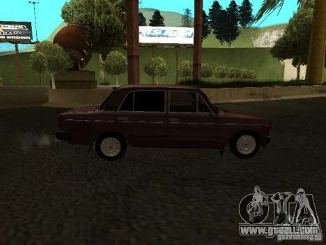 Vaz 21063 for GTA San Andreas back view
