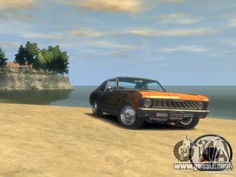 Chevrolet Nova SS 1969 for GTA 4