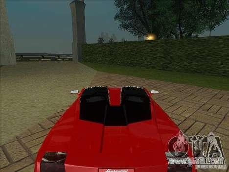 Lamborghini Concept S for GTA San Andreas right view