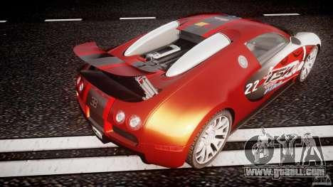 Bugatti Veyron 16.4 v1 for GTA 4 interior