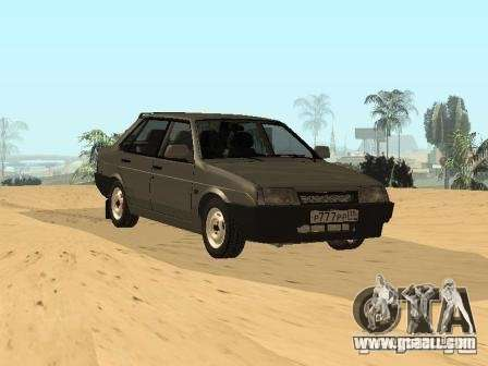 VAZ 21099 Summer for GTA San Andreas