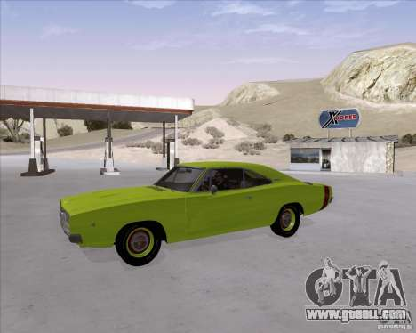 Dodge Charger RT 440 1968 for GTA San Andreas inner view