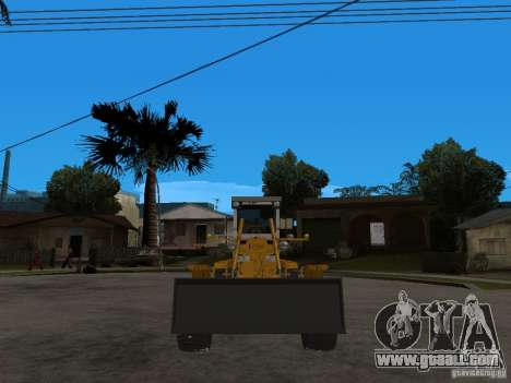 Grader for GTA San Andreas right view