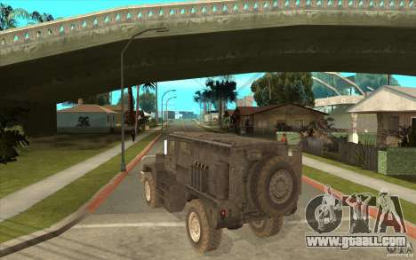 Military Truck for GTA San Andreas right view