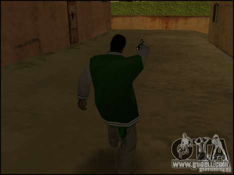 Weapon in one hand for GTA San Andreas third screenshot