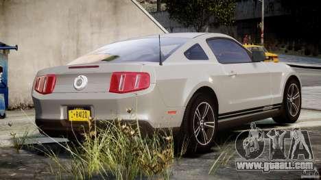 Ford Mustang V6 2010 Premium v1.0 for GTA 4 upper view