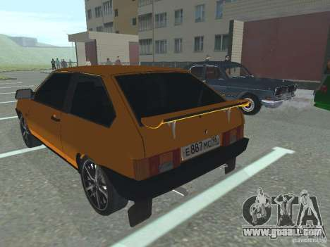 VAZ 2108 for GTA San Andreas right view