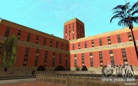 New textures for hospital in Los Santos for GTA San Andreas sixth screenshot