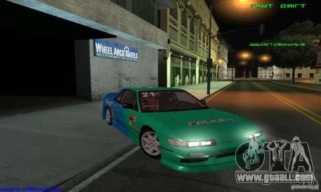 Nissan Silvia S13 Tunable for GTA San Andreas bottom view