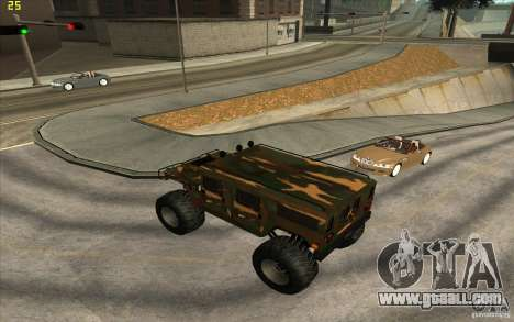 Hummer H1 Humster for GTA San Andreas left view
