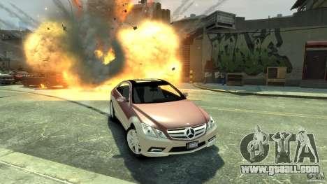 Mercedes-Benz E 500 Coupe V2 for GTA 4