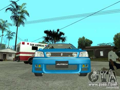 Nissan Stagea 25RS four S for GTA San Andreas right view