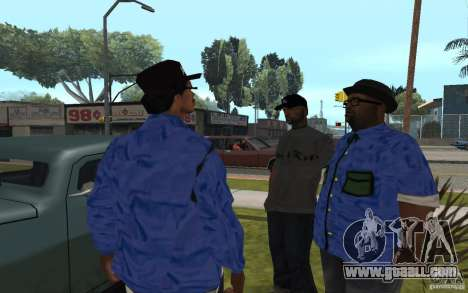 Crips 4 Life for GTA San Andreas