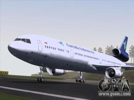 McDonnell Douglas MD-11 Garuda Indonesia for GTA San Andreas