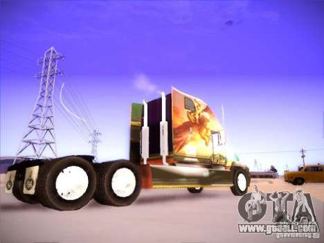 Mack Vision for GTA San Andreas back view