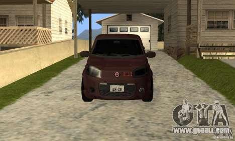 Fiat Novo Uno Sporting for GTA San Andreas left view