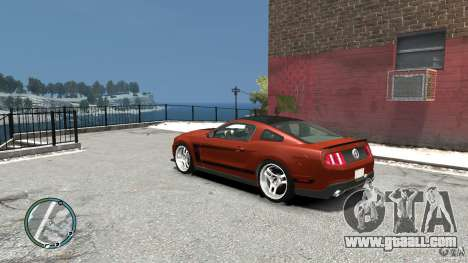 Ford Mustang Boss 302 2012 for GTA 4 back left view