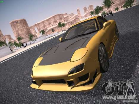 Mazda RX-7 FD3S C-West Custom for GTA San Andreas