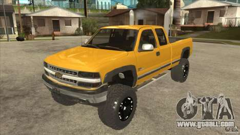Chevrolet Silverado 2500 Lifted for GTA San Andreas