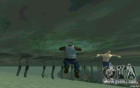People are able to swim for GTA San Andreas fifth screenshot