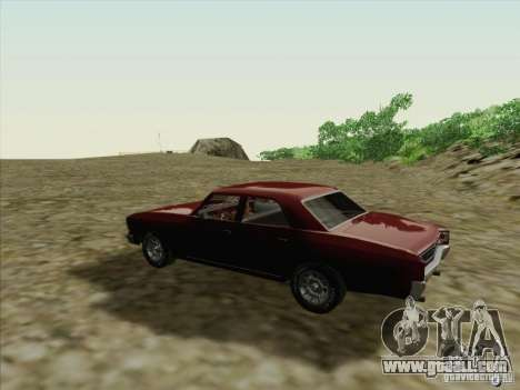 Chevrolet Chevelle for GTA San Andreas right view