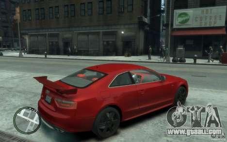 Audi S5 v2 for GTA 4 right view