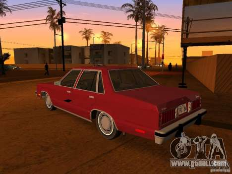 Ford Fairmont 4dr 1978 for GTA San Andreas left view