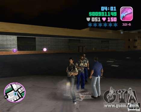 Vercetti Gang wear for GTA Vice City forth screenshot
