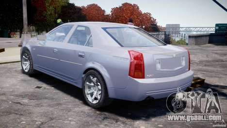 Cadillac CTS for GTA 4 side view