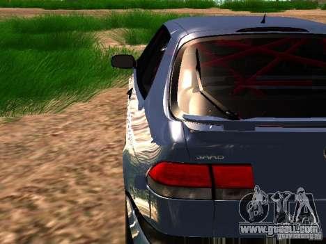 Saab 9-3 Aero for GTA San Andreas inner view