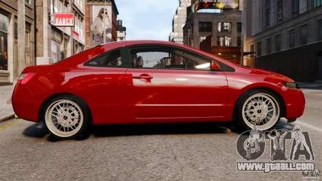 Honda Civic Si for GTA 4 left view