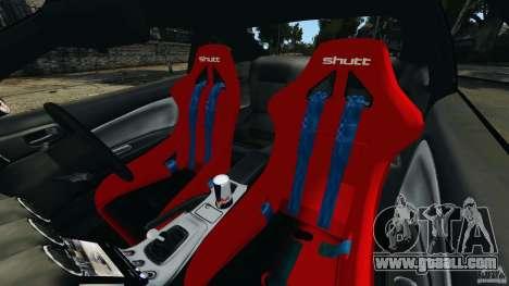 Nissan Silvia S15 JDM for GTA 4 inner view