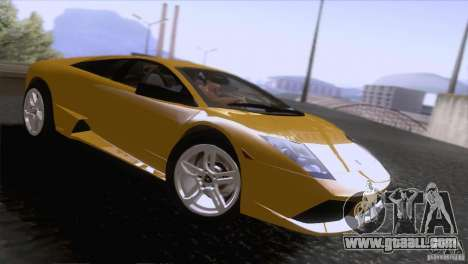 Lamborghini Murcielago LP640 2006 V1.0 for GTA San Andreas right view